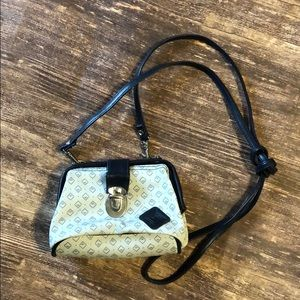 VINTAGE LEATHER MICRO BAG